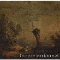 Arte: PAISAJE ESCUELA HOLANDESA SIGLO XIX. LIENZO 65X39.. Lote 57941619