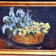 Arte: JORDI JORDA FERNANDEZ (BARCELONA, 1930) OLEO SOBRE CARTÓN ENTELADO. BODEGÓN. Lote 58060631