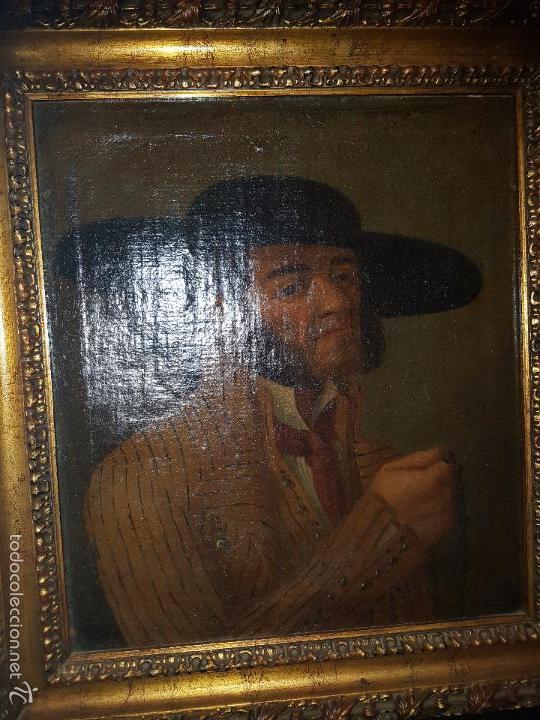 OLEO SOBRE LIENZO SIGLO XVIII (Arte - Pintura - Pintura al Óleo Antigua siglo XVIII)