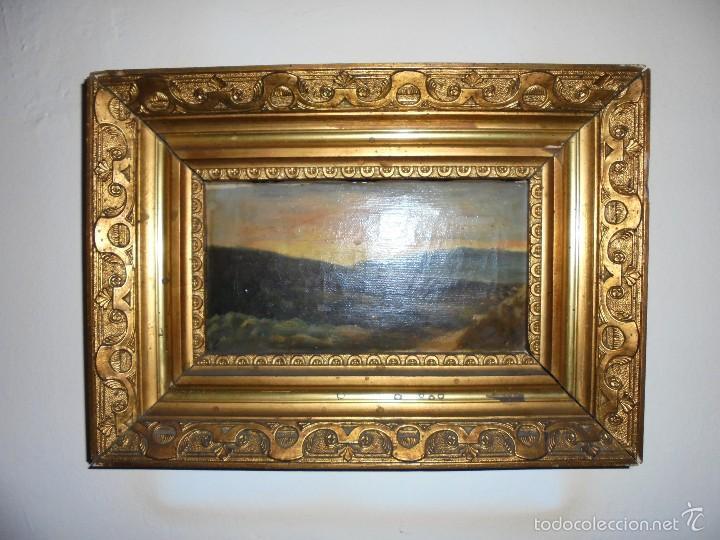 CUADRO AL OLEO SXIX-XX. (Arte - Pintura - Pintura al Óleo Moderna siglo XIX)