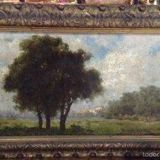 Arte: FRANCESCO LOJACONO (1841-1915) PINTOR ITALIANO - ÓLEO SOBRE TELA. Lote 58271157