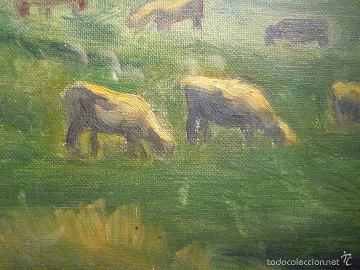 Arte: PAISAJE DE OLOT POR ENRIC GALWEY (1864-1931) - Foto 2 - 58282791