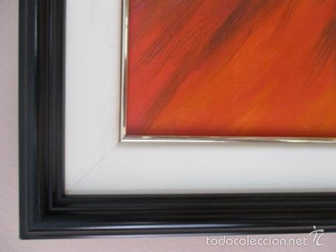 Arte: Cuadro de Bailarina de Balet pintado al oleo encima de una tabla de madera de Ramon Recarens - Foto 10 - 58348704