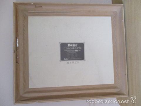 Arte: Cuadro de Bailarina de Balet pintado al oleo encima de una tabla de madera de Ramon Recarens - Foto 15 - 58348704