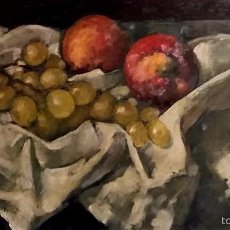 Arte: VILA ARRUFAT, ANTONI (1894 - 1989) - OLEO S/TABLEX 29 X 52 CM. Lote 58367224