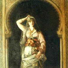 Arte: PINTURA ORIENTALISTA, DE TOMÁS MORAGAS (1837-1906). Lote 58380526