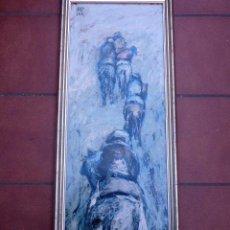 Arte: ÓLEO SOBRE TABLA.JOSEP TUR ROIG.(MATARÓ). Lote 58385415