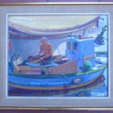 Arte: ÓLEO SOBRE TELA DE JAUME VILARUPLA ROLDOS(MATARO 1952)AÑO 1979. Lote 58385435