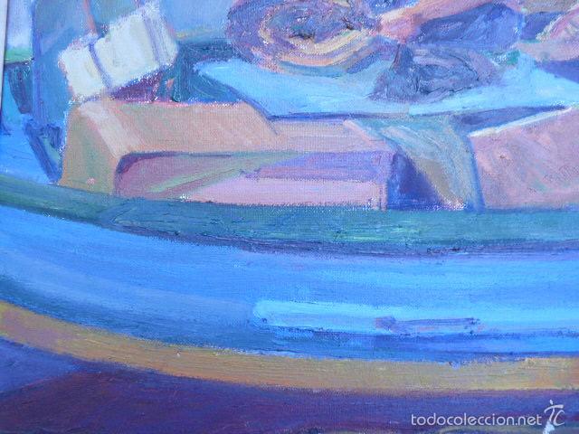 Arte: óleo sobre tela de jaume vilarupla roldos(mataro 1952)año 1979 - Foto 4 - 58385435