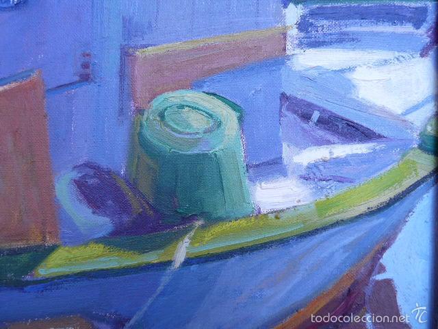 Arte: óleo sobre tela de jaume vilarupla roldos(mataro 1952)año 1979 - Foto 5 - 58385435