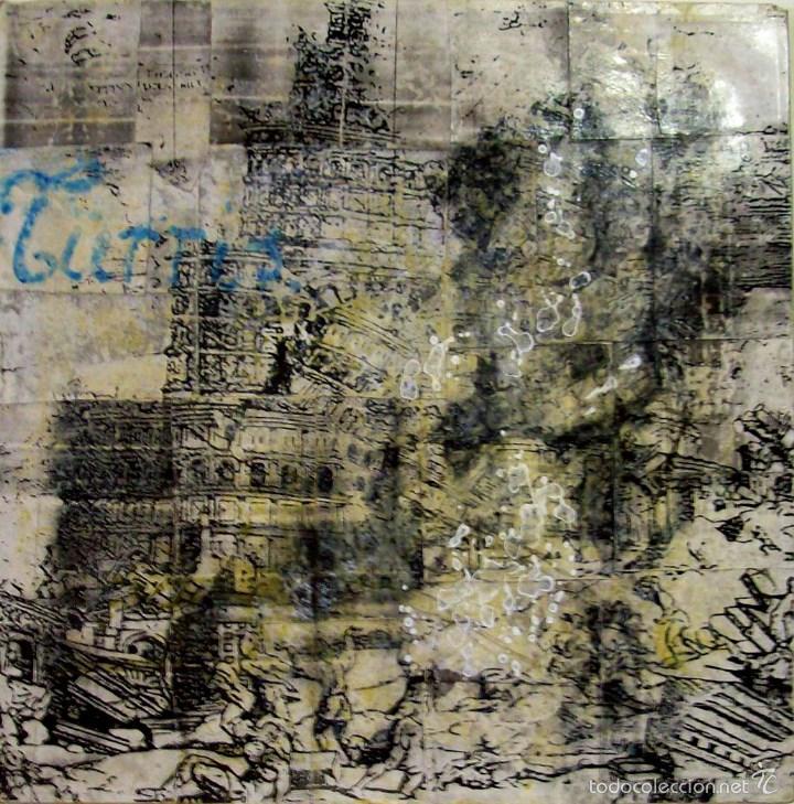 MARIANO DE BLAS PINTURA O/LIENZO T/ LA TORRE AÑO 2002 MEDIDAS 61 X 61 CM (Arte - Pintura - Pintura al Óleo Contemporánea )