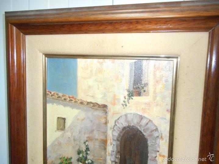 Arte: perfecto oleo firmado lozano sin golpes en la tela con su marco - Foto 2 - 58566584