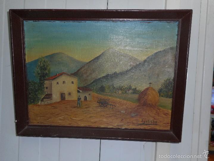 OLEO FIRMADO FORTUÑO (Arte - Pintura - Pintura al Óleo Moderna sin fecha definida)