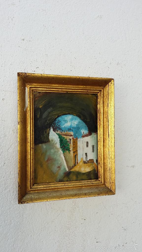 PINTURAY MARCO MADERA (Arte - Pintura - Pintura al Óleo Antigua sin fecha definida)