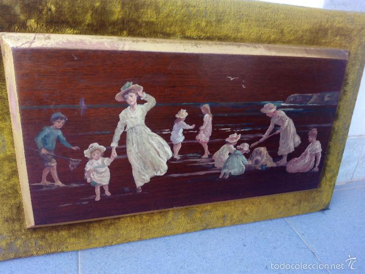 Arte: Pintura al Oleo Sobre Nogal - R.Jackson & Sons - Liverpool - Foto 3 - 30450663