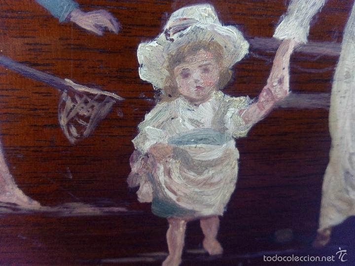 Arte: Pintura al Oleo Sobre Nogal - R.Jackson & Sons - Liverpool - Foto 11 - 30450663