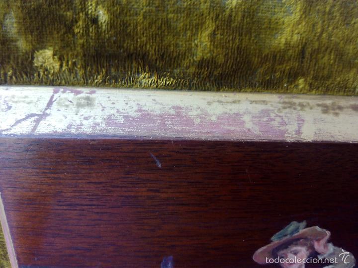 Arte: Pintura al Oleo Sobre Nogal - R.Jackson & Sons - Liverpool - Foto 12 - 30450663