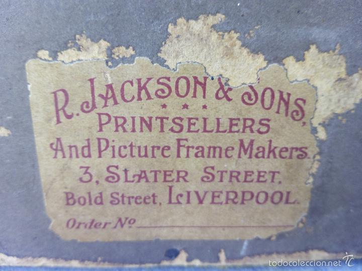 Arte: Pintura al Oleo Sobre Nogal - R.Jackson & Sons - Liverpool - Foto 17 - 30450663