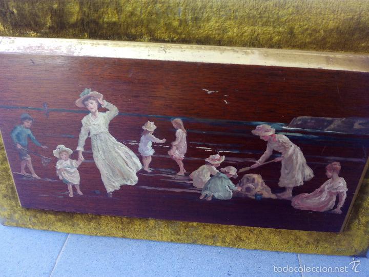 Arte: Pintura al Oleo Sobre Nogal - R.Jackson & Sons - Liverpool - Foto 18 - 30450663