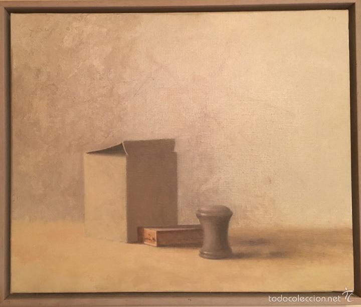 DELICADO ÓLEO DE RAMON SUNYER (Arte - Pintura - Pintura al Óleo Contemporánea )