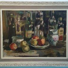 Arte: SAVALL 71 , AURELIO PEREZ SAVALL (1943 COCENTAINA) , BODEGON. Lote 59431265