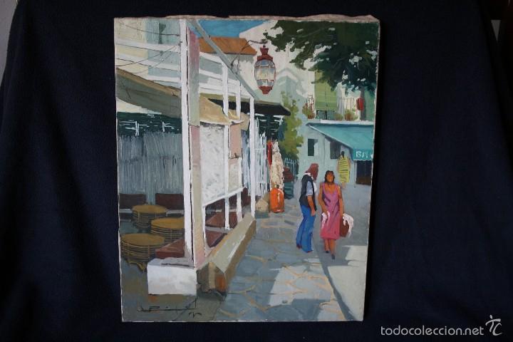 RAMON PUJOL GRABULOSA ( OLOT 1947 ) GRAN OPORTUNIDAD . (Arte - Pintura - Pintura al Óleo Contemporánea )