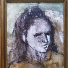 Arte: PALMIRA ABELLÓ (RETRATO FEMENINO) 1972. Lote 59713263