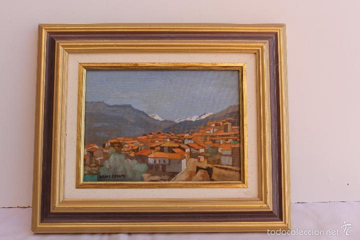 OLEO SOBRE TABLEX DE ANGEL ARIAS CRESPO (Arte - Pintura - Pintura al Óleo Contemporánea )