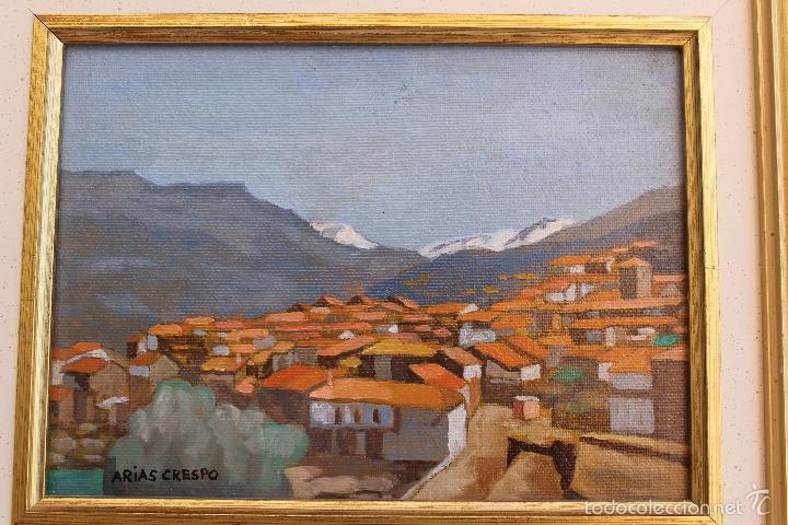 Arte: OLEO SOBRE TABLEX DE ANGEL ARIAS CRESPO - Foto 2 - 59764716