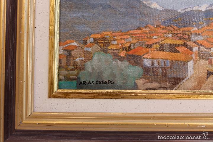 Arte: OLEO SOBRE TABLEX DE ANGEL ARIAS CRESPO - Foto 3 - 59764716
