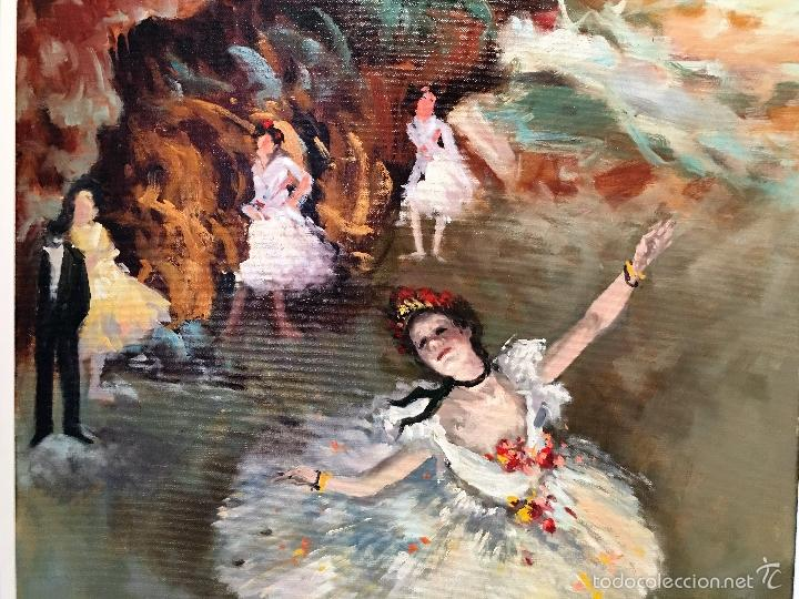 Arte: oleo sobre lienzo BAILARINAS - Foto 4 - 57753427