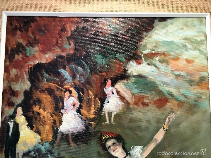 Arte: oleo sobre lienzo BAILARINAS - Foto 5 - 57753427