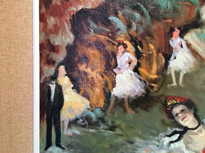 Arte: oleo sobre lienzo BAILARINAS - Foto 6 - 57753427