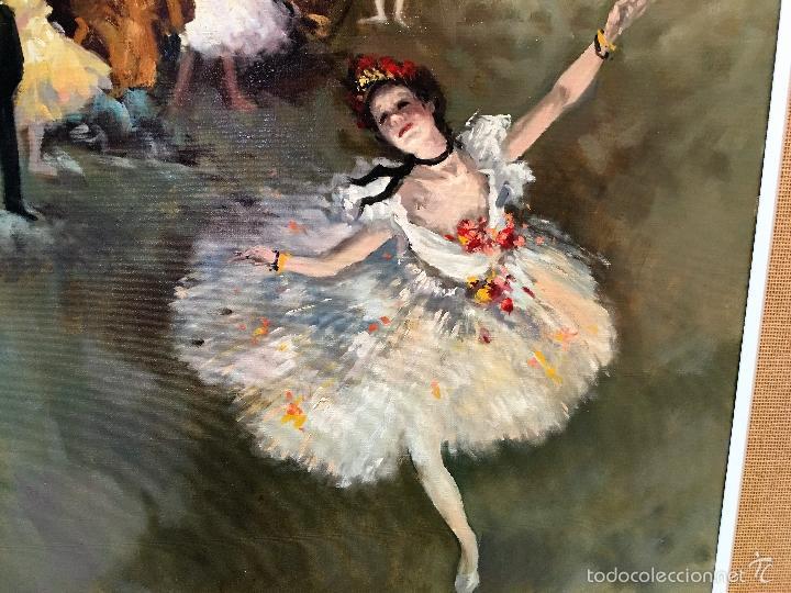 Arte: oleo sobre lienzo BAILARINAS - Foto 7 - 57753427