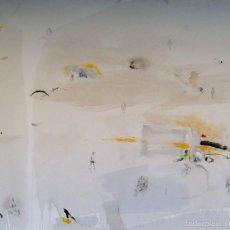 Arte: PACO CONESA LA UNION 1944 OBRA TITULADA LA PLAYA FIRMADA Y FECHADA 2010 MED 130X160 CM CATLOGO. Lote 60137539