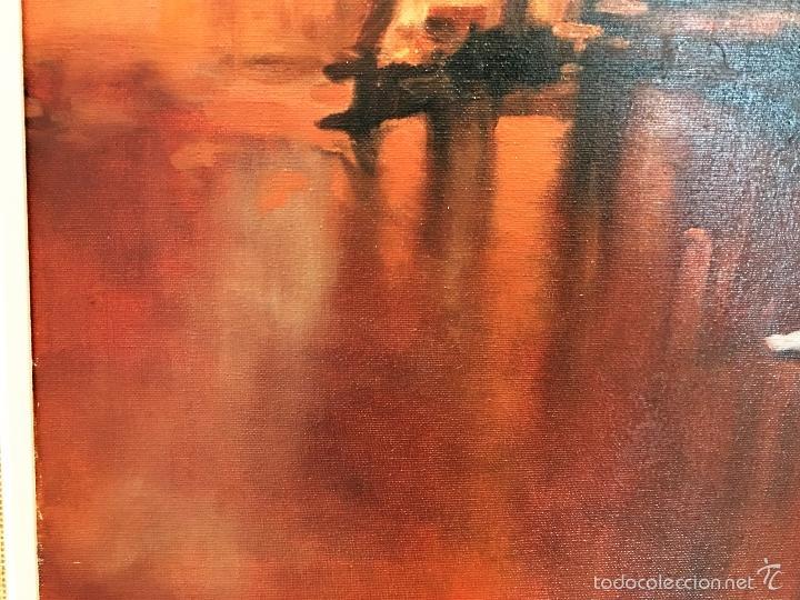Arte: oleo sobre lienzo BAILARINAS EN DESCANSO - Foto 7 - 57753726