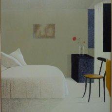 Arte: ELENA GAGO (CORUÑA 1940 - 2011). INTERIOR.. Lote 60265735
