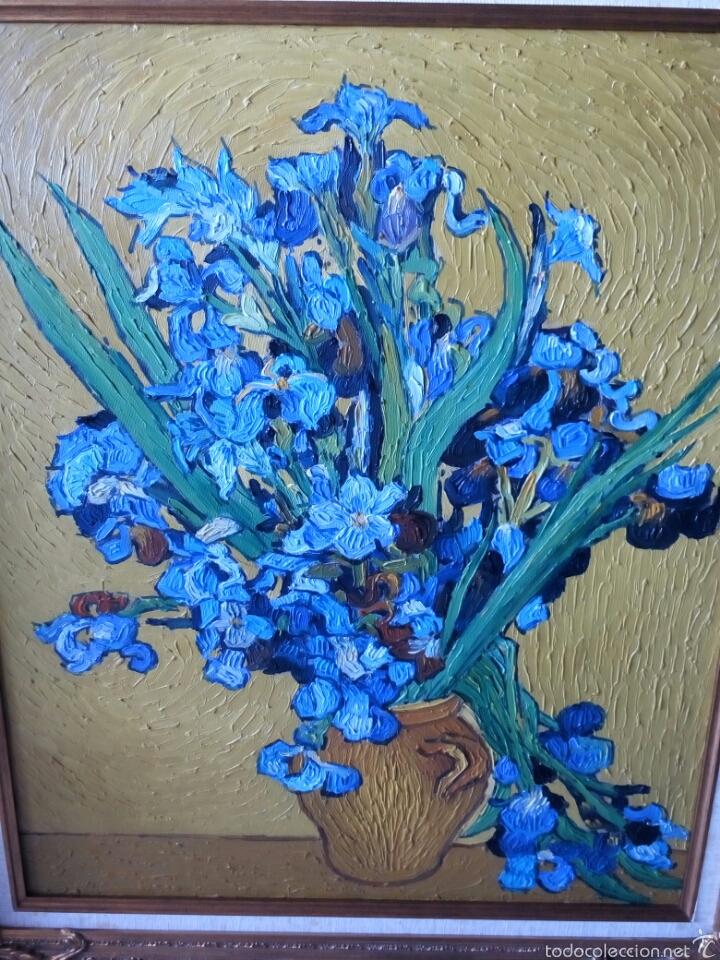 Arte: Cuadro oleo sobre lienzo con gran marco 80x70 - Foto 3 - 60273706