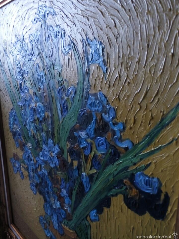 Arte: Cuadro oleo sobre lienzo con gran marco 80x70 - Foto 4 - 60273706