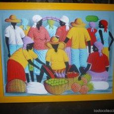 Arte: PRECIOSO CUADRO PINTADO SOBRE TELA DEL ARTISTA LAFLEUR REGINALD.. Lote 60361595