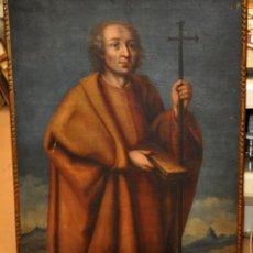 Arte: ESCUELA ESPAÑOLA DEL SIGLO XVIII. OLEO SOBRE TELA. SAN FELIPE. Lote 60508439