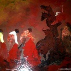 Arte: ESCENA TAURINA DEL MAESTRO JOSE GUEVARA. Lote 60844463