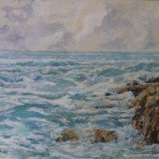 Arte: PACO CASAL ( FERROL 1956). LAS ROCAS.. Lote 61265667