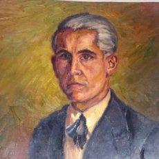 Arte: AUTORETRATO JOAN BARÓ MAGRINYÁ. TERRASSA. AÑOS 1950'S. Lote 61541472
