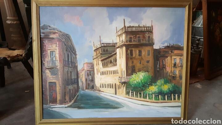 GRAN OLEO SOBRE TABLA 100X80CM, ESCUELA VALENCIANA. (Arte - Pintura - Pintura al Óleo Contemporánea )