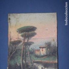 Arte: OLEO SOBRE LIENZO - CON FIRMA. Lote 61855136