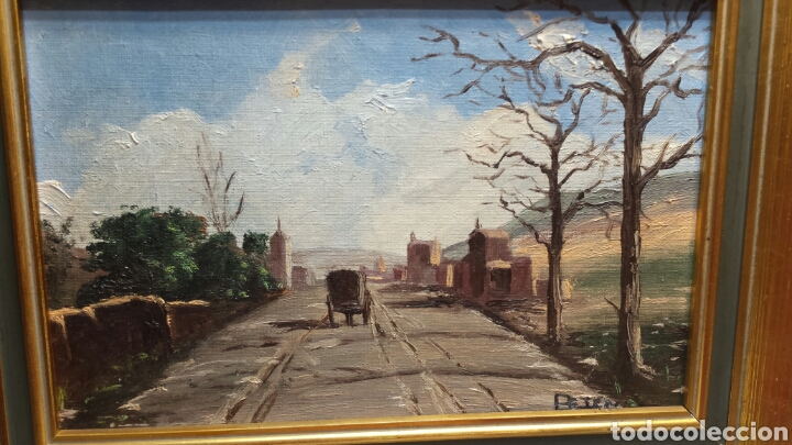 PRECIOSA OBRA DE PETÉN SIGLO XX (Arte - Pintura - Pintura al Óleo Moderna sin fecha definida)