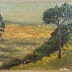 Arte: N5-147. PAISAJE. ÓLEO SOBRE LIENZO. FIRMADO JAUME BELLMUNT. 1909. . Lote 62267404