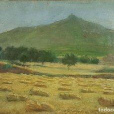 Arte: N5-152. PAISAJE RURAL. ÓLEO SOBRE LIENZO. JAUME BELLMUNT. 1900. . Lote 62336180