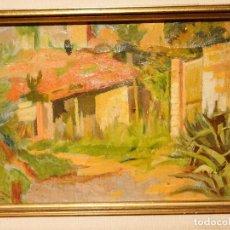 Arte: FRANCISCO GIMENO ARASA (1858-1927) O/L FIRMADO ENMARCADO. Lote 62437352